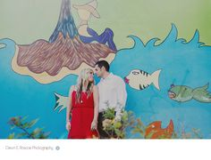 Hubbard street murals engagement session, Chicago, IL