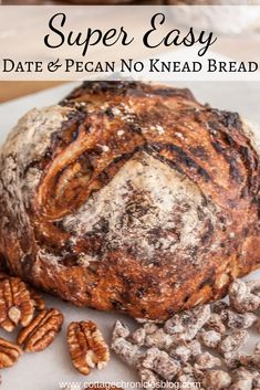 Easy Artisan Bread Recipe. No knead bread is delicious and perfect for beginning bakers. You can make artisan bread at home!