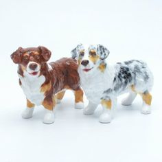 Australian Shepherd Dog Ceramic Figurine Salt Pepper Shaker 00017 Ceramic Handmade Dog Lover Gift Collectible Home Decor Art and Crafts by Australian Shepherd - madamepOmm -. $59.00. Australian Shepherd Dog Lover Ceramic Original Handmade Hand Paint Salt and Pepper Shaker Figurine Ceramic Home Decor Collectibles  Made of ceramic porcelain high fired interior apply clear under-glaze, food safe painted with attention hand painted acrylic paint then apply clear glos...