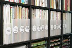 organizing pattern paper