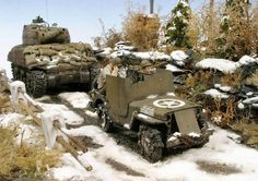 Ardennes 1945 Diorama by Peter Arpad (Tamiya 1/35)