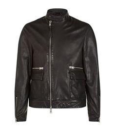 ALLSAINTS Kallow Leather Biker Jacket. #allsaints #cloth #