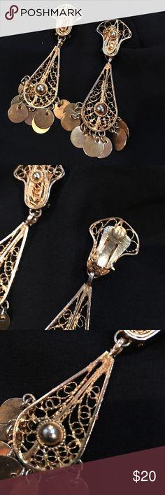 Earrings Gypsy (Bedouin) golden earrings Jewelry Earrings