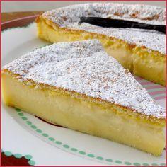 Gâteau magique à la vanille - Aujourd'hui je vous propose un recette qui a fait le tour de la blogosphère : Le gâteau magique à la vanille ...