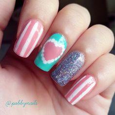 Sweeeeet. Recreation of Rubyrominaa design. Cute! http://instagram.com/p/i-0pQwheqK/