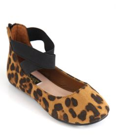 Take a look at the Beige & Black Leopard Pam Flat on #zulily today!