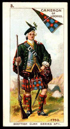 Cigarette Card - Cameron of Lochiel | Flickr - Photo Sharing!