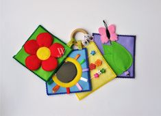 Ready to ship/ Baby's First Quiet Book/ Mini Quiet Book/ Busy Book/ Activity/ Montessori/ Fabric Book/ Travel Toy by WeriBeauties on Etsy https://www.etsy.com/au/listing/489853947/ready-to-ship-babys-first-quiet-book