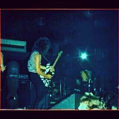"""""""Eddie (Van Halen) at The Whiskey before signing with Warner bros!"""" #evh #eddievanhalen #alexvanhalen #diamonddave #davidleeroth #michaelanthony #TheWhiskeyAgogo #Whiskeyagogo #earlydays #clubdays #Rock #Music #vantastikhistory #Vantastik #VanHalen"""