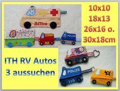 ☆ITH RV Autos☆ 3 Stickdateien aussuchen 10-30cm von Tanja-macht-Geschenke auf DaWanda.com
