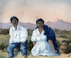 Indio e india de Buriticá, provincia de Antioquia