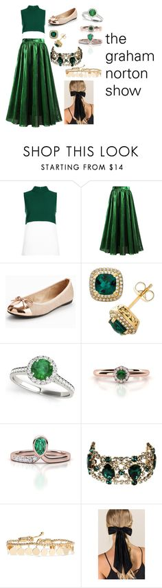 """""""The graham norton show outfit"""" by the-game-is-something ❤ liked on Polyvore featuring Hobbs, Butterfly Twists, Allurez, Dsquared2, Eddie Borgo and Francesca's"""