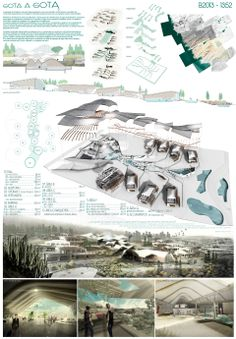 Results of the Arquideas Grant 2013 Competition - Architecture Contest Architecture Panel, Architecture Graphics, Architecture Drawings, Architecture Portfolio, Concept Architecture, Architecture Design, Architecture Presentation Board, Presentation Layout, Presentation Boards
