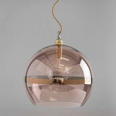 BuyEbb & Flow Striped Rowan Pendant, Copper Online at johnlewis.com