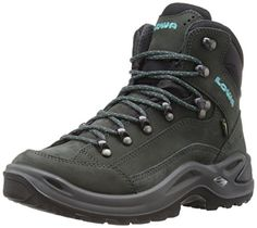 Lowa Womens Renegade GTX Mid WS Hiking Boot AnthraciteTurquoise 85 M US * Check this awesome product by going to the link at the image.
