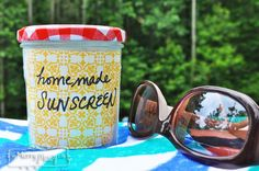 Homemade Natural Sunscreen - Chemical-Free and Non-Toxic