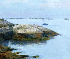 Childe Hassam Isles of Shoals Appledore 1890