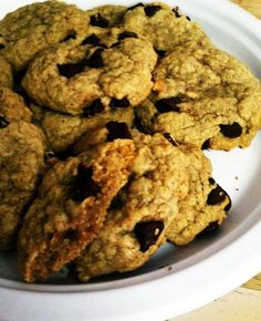 Healthy Oatmeal Cookies from Food.com: This recipe won 1st place at the Virginia State Fair (in the oatmeal cookies category.) It was submitted by Jan Tucker, of Virginia Beach. ** Note: Cookies have no cholesterol or saturated fat except for the nuts.