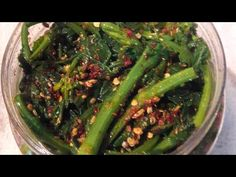 Sarson ka Achar/Pickle - YouTube Seaweed Salad, Pickles, Asparagus, Green Beans, Channel, India, Vegetables, Ethnic Recipes, Youtube