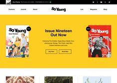 So Young is A fully illustrated new music magazine, inspired by fanzines from the punk era but with a much more positive outlook. Latest Design Trends, Best Web Design, Baxter Dury, Web Design Agency, Design Blogs, Magazine Shop, Young Magazine, Music Magazines, Positive Outlook