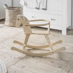#houten #kraamcadeau #baby | Petite Amélie Die 100, Amelie, Inspirational Gifts, Rocking Chair, Kids Toys, Furniture, 1 An, Home Decor, Wood Rocking Horse
