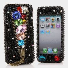 Style # 495 Bling Cases, Handmade 3D crystals gold castle design case for iphone 5, iphone 5s, iphone 6, Samsung Galaxy S4, S5, Note 2, Note 3, LG, HTC, Sony – LuxAddiction.com