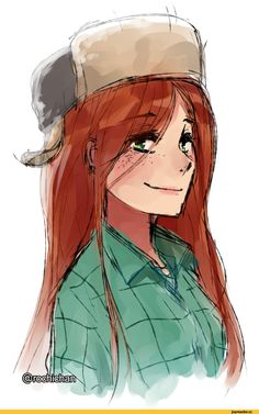Wendy Corduroy in Disney Style Desenhos Gravity Falls, Fall Drawings, Star Vs The Forces Of Evil, Force Of Evil, Dipper Pines, Dipper Y Mabel, Mabel Pines, Gravity Falls Fan Art, Gravity Falls Anime