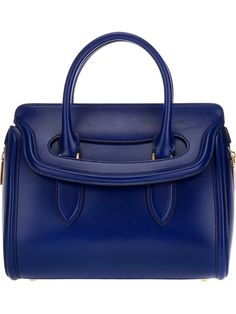 Alexander McQueen  Love the way this bag closes...
