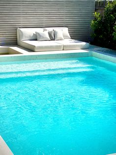 tristanpeirce Landscape Architecture Pool and Garden Design - Swanbourne poolside lounge ready for summer Outdoor Spa, Outdoor Decor, Perth Western Australia, Modern Pools, Landscape Architecture Design, Summertime, Garden Design, Backyard, Exterior