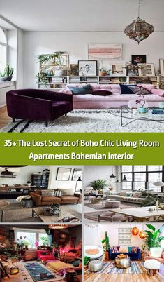 The Lost Secret of Boho Chic Living Room Apartments Bohemian Interior