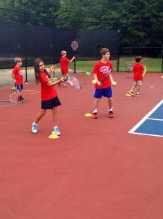 Fun with Tennis PLUS Program - September 26, 2014 #tennis #handfootworkeyecoordination #fitness #fundamentalskills