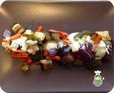 Chef in Chief: Ensalada templada de verduras asadas con salsa de mostaza