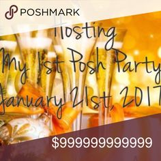 My 1st Party! WINTER WONDERLAND PARTY 2nd LISTING Theme announced: WINTER WONDERLAND!❄️❄️❄️❄️❄️❄️❄️❄️❄️❄️❄️❄️❄️❄️❄️❄️2nd LISTING, HOSTING MY 1ST POSH PARTY with @shoppermaj, milandpat, @tinasokol, @califoxx, @verymary1! January 21st! I'm sooooo excited! 1st listing is about full, so I made a 2nd one. Hosting with some amazing PFF's, please help me spread the word, thank you!!! 🤗🎉🎉🎉🎉🎉🎉🎉🎉🎉🎉🎉🎉🎉🎉 Free People Shoes