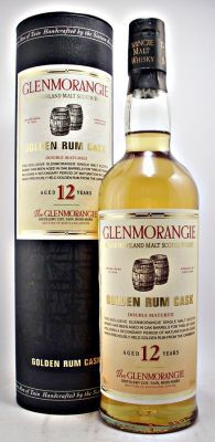 Glenmorangie Scotch Whisky 12 year old Golden Rum Cask 40% 70cl