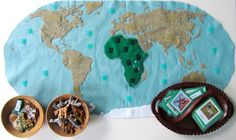 Animals of Africa for the Montessori Wall Map & Quietbook with Printables