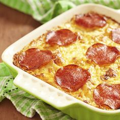 Potato Pizza Casserole | Frontier Co-op