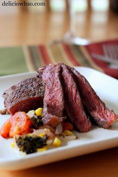 Steak and Oven Roasted Veggies