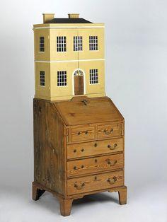 Victoria & Albert Museum, London ~ doll's house writing desk