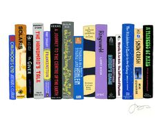 another Science Fiction bookshelf, from My Ideal Bookshelf