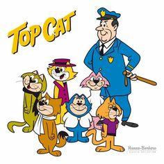 The number one cat-Top Cat Looney Tunes Cartoons, Retro Cartoons, Classic Cartoons, Vintage Cartoon, Cool Cartoons, Vintage Toys, Classic Cartoon Characters, Cartoon Books, Cartoon Tv Shows