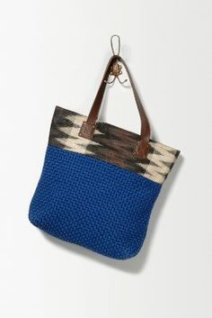 Elliptic Tote | Anthropologie | Upcycled Textiles | Fair Trade | Handmade in the Philippines
