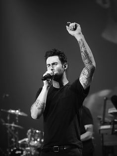 Adam Levine! Part of Maroon 5 and their lead singer!!