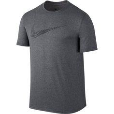 b6300b47e3d61 Nike Men s Dry Legend Swoosh Dash Graphic T-Shirt. Nike MenCharcoal