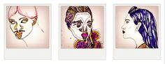 Sketches by Julia Jürgens, via Behance