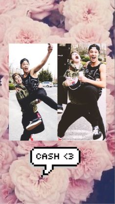 #cash (cameron and nash) I ship sooooo much!!!!! Also it's a good wallpaper for Apple products
