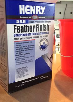 Feather Finish Concrete Over Tile Counters | And Then We Tried