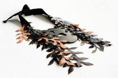 Niki Stylianou. Rubber leather