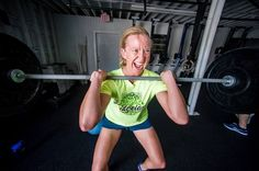 Show us your WAR FACE! Do you have a war face in your workout? Jacy sure does. WORK IT. #crossfit #htown
