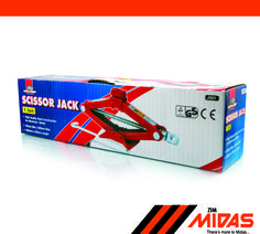 1 Ton Scissor Jack. Be sure to get the right weight class for your vehicle!