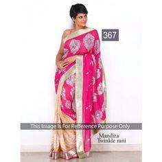 Mandira Twinkel Rani Chiffon 60gm Georgette Bollywood Dress